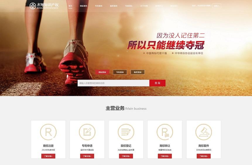 长沙齐翔知识产权网站建设开发